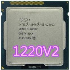 Процессор Intel Xeon E3-1220 V2 e3 1220 V2 3,1 ГГц 8 МБ 4 ядра 1333 МГц SR0PH LGA1155