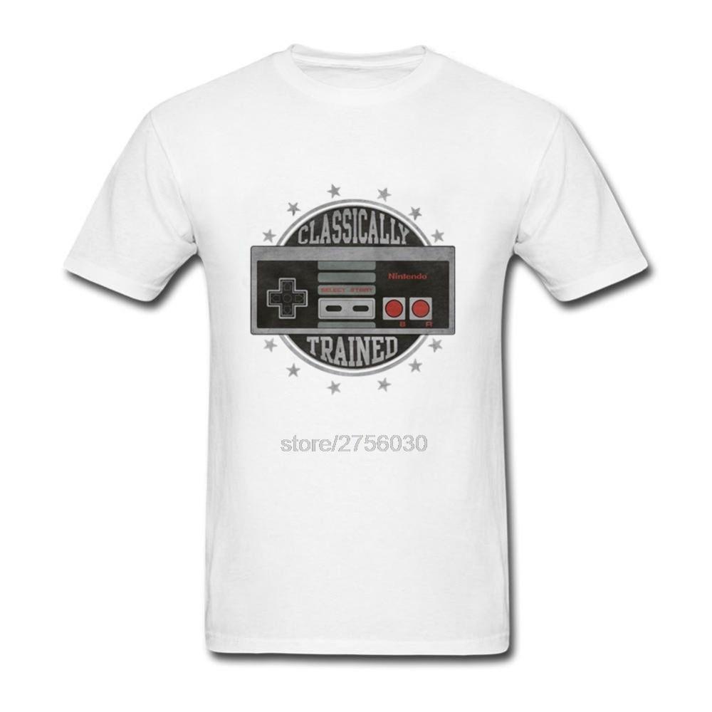 Классически обученный ne Видео игровой контроллер Для мужчин; футболки 100% хлопковая футболка хлопок Для мужчин s футболка S-3XL