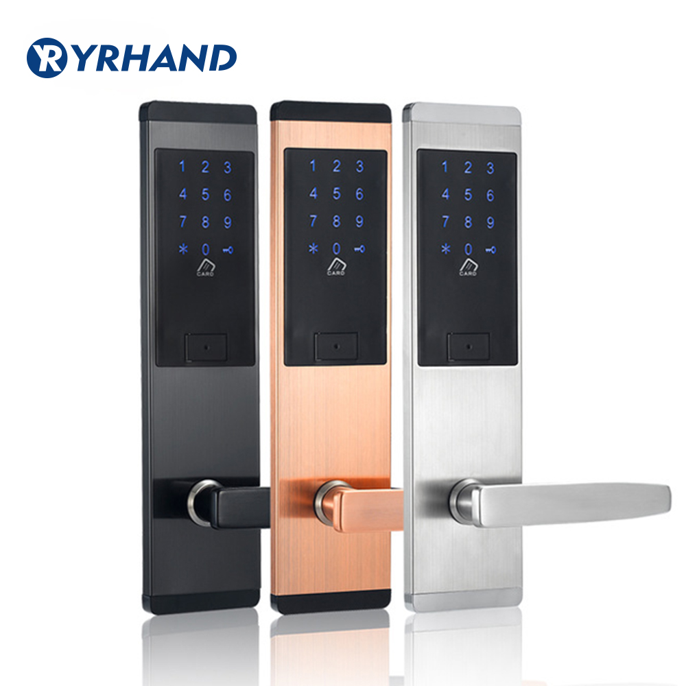 Security Electronic Digtial Lock Keyless digital Safe Lock Door Smart Card Keypad Password Pin Code Door