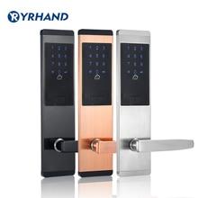ความปลอดภัย Electronic Digital ล็อค, keyless ดิจิตอลล็อคประตูสมาร์ทการ์ดปุ่มกดรหัสผ่านรหัส PIN ประตูล็อคสำหรับ Smart Home