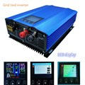 Reine sinus welle 1000 W grid tie inverter Farbe display DC zu AC High efficiency arbeit für PV power generation oder batterie entladung