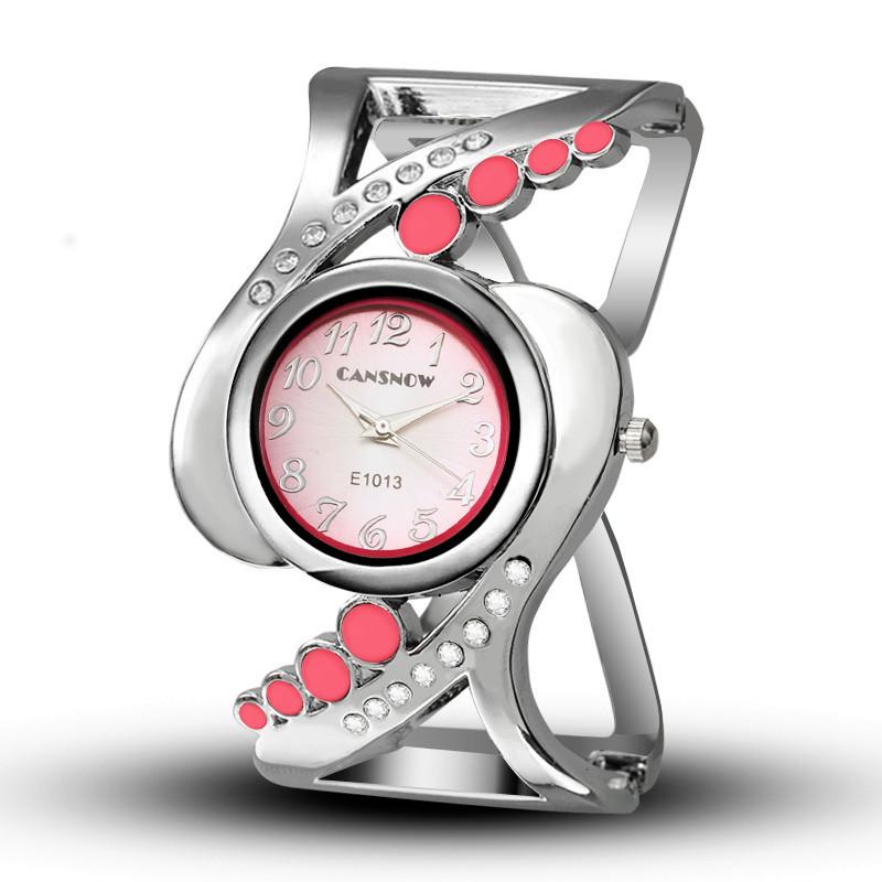 New design women bangle wristwatch quartz crystal luxury relojes rhinestone fashion female watches hot sale eleagnt mujer watch 12