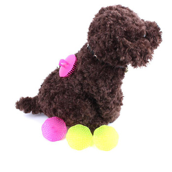 2Pcs Pet Shower Brush Hair Shampoo Scalp Body Massage Dog Massager Dog Comb Groom Pet Supplies Shedding