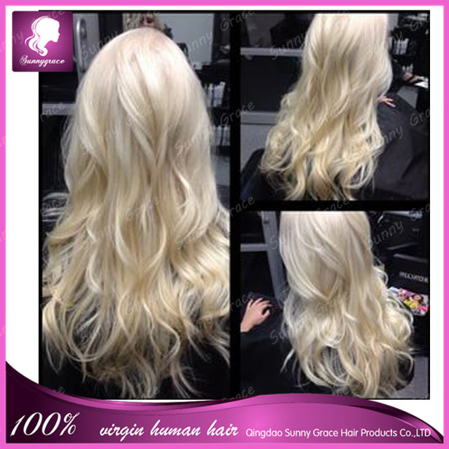 60 white blonde human hair lace front wigs brazilian remy virgin 60 white blonde human hair lace front wigs brazilian remy virgin full lace wig with pmusecretfo Choice Image