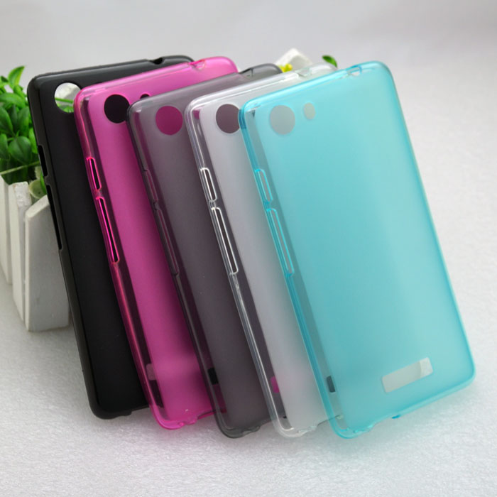 YSW Soft TPU Pudding Cases For Qmobile N