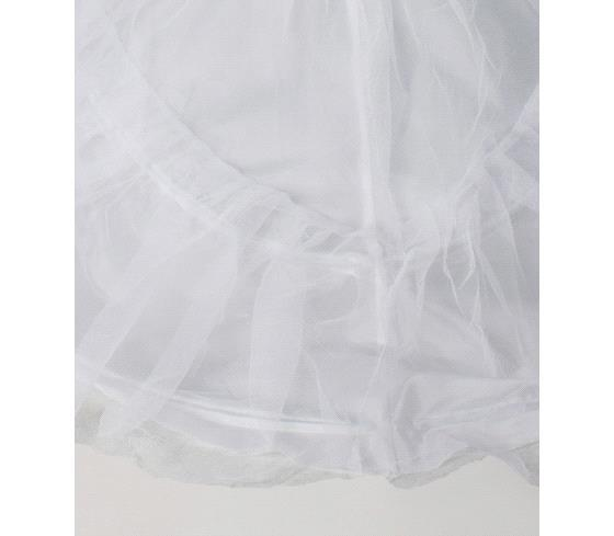 Купить с кэшбэком Wedding Petticoat Crinoline Slip Underskirt Bridal Dress Hoop Vintage Slips