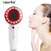 6 In 1 EMS Ultrasonic Cavitation LED Galvanic Ion Facial Body Beauty Machine Tens Acupuncture Therapy Anti Cellulite Massage Top