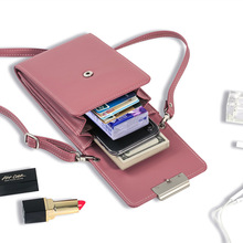 Design Solid Women Wallet Multifunction Phone Wallet Long Women Mini Shoulder Bags Young Girl Purse Brand Crossbody Bags Sac все цены