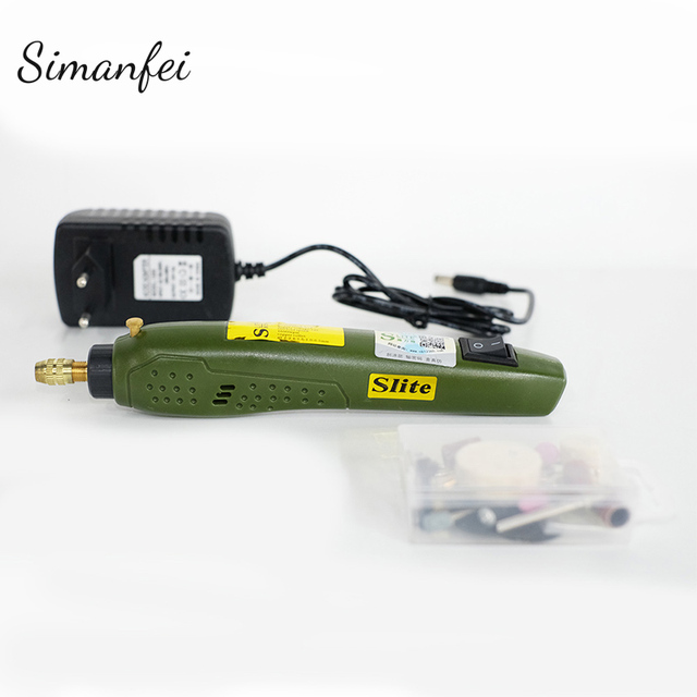 DIY Mini Rotary Tool Grinding Machine Electric Drill Grinder Set Accessories