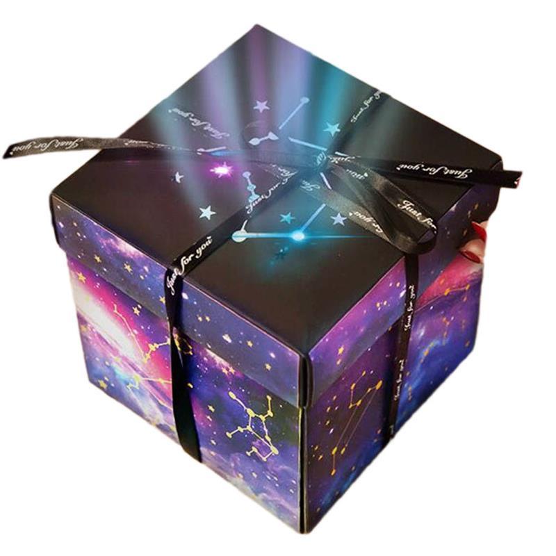 Album cadeau boîte créative bricolage Photo cadeau boîte Explosion cadeau boîte pour anniversaire Surprise