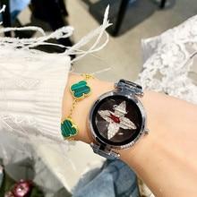2019 Best Sell Women Watches Women Luxury Rose Gold Bracelet Quartz Wrist Watches Fashion Women's Dress Watch Ladies Watch Clock недорого
