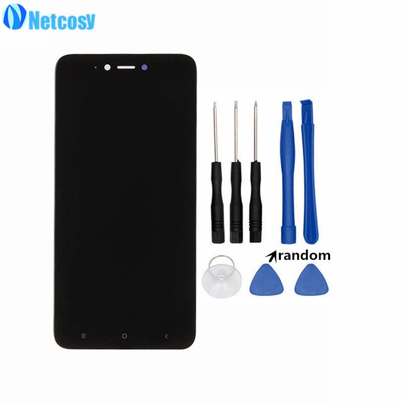 Netcosy For Xiaomi Redmi Note 5A 3G Version LCD Display+Touch screen digitizer Assembly For Hongmi Note 5A LCD screen & ToolsNetcosy For Xiaomi Redmi Note 5A 3G Version LCD Display+Touch screen digitizer Assembly For Hongmi Note 5A LCD screen & Tools