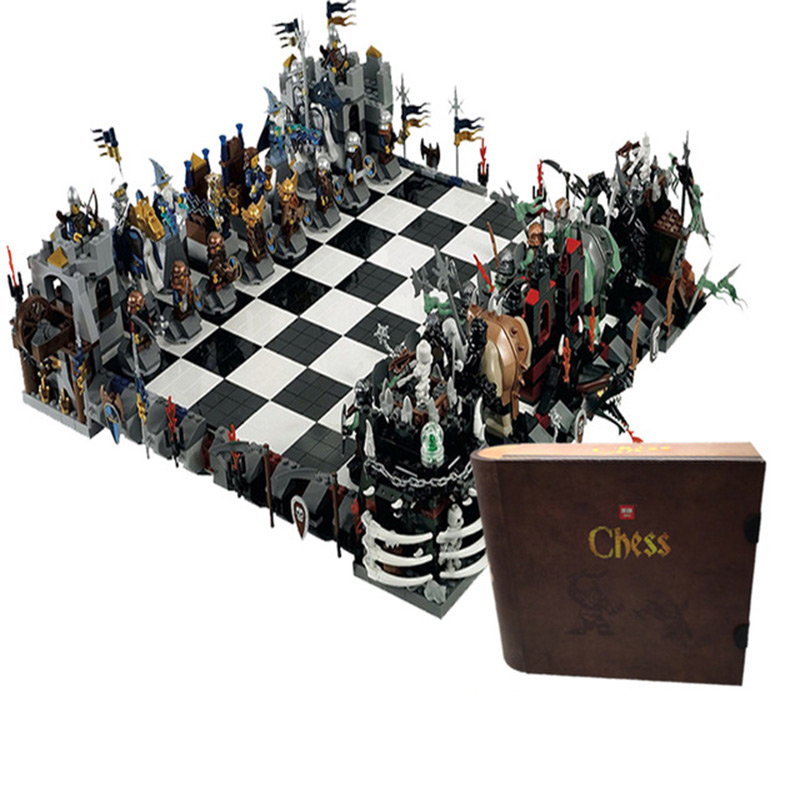 Lepin 16019 419PCS classic series chess collection children assemble the building blocks of early teaching creative toys the classic 90s collection cd