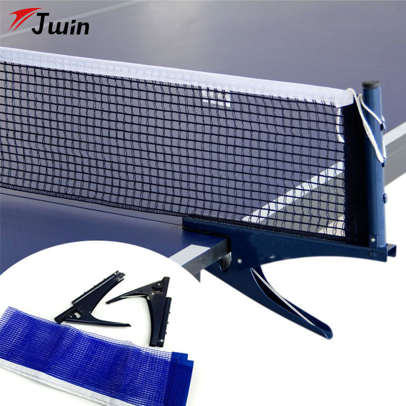 Table Tennis Table Grid Plastic Strong Mesh Net Portable Net Kit Net Rack Replace Kit For Ping Pong Playing Network