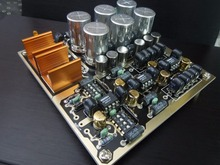 Pré amplificador hi fi ajustável ganho múltiplo pré amp pcb/kit diy/placa