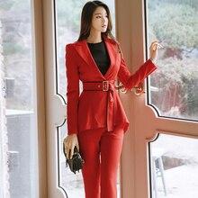 summer new fashion women Red office work collar ol shirt dress