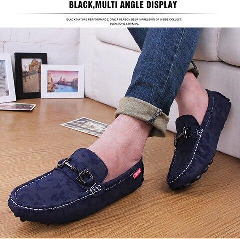 a13db372ea296 2015 Nuevo color de los hombres de Cuero Genuino plana zapatos de Marca  Mocasines hombres holgazanes Guisantes Zapatos zapatos Casuales de La Moda  caliente ...