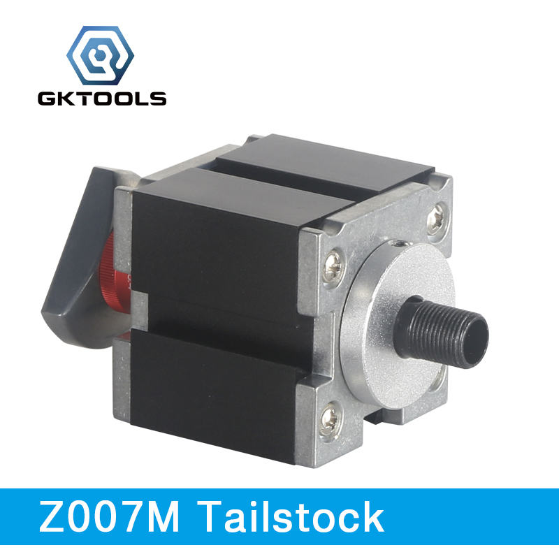 GKTOOLS, Metal Tailstock used for fix the workpiece, clamp the cutting tools, Z007MS все цены