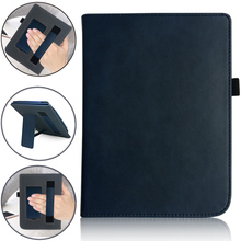 PU Leather Magnetic Handheld/Stand Reading Case for PocketBook 740 7.8 inch InkPad 3 E-Book Auto Sleep/wake Cover недорого
