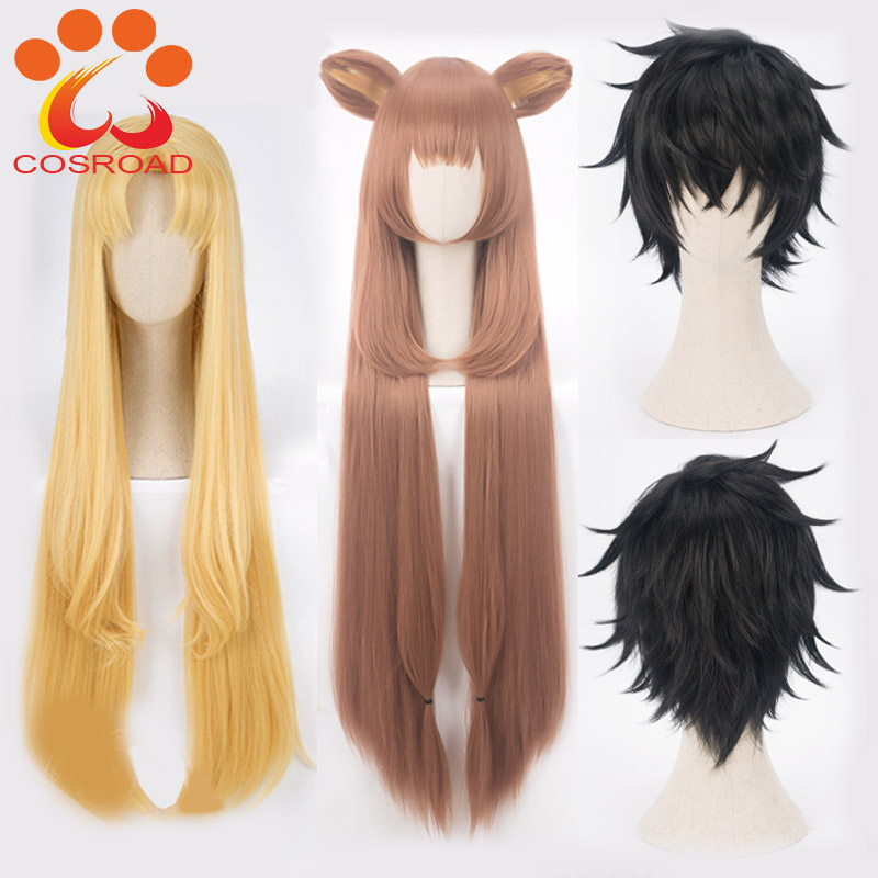 Cosroad The Rising Of The Shield Hero Raphtalia Naofumi Iwatani Filo Cosplay Costume Wig