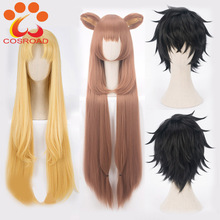 Cosroad The Rising of the Shield Hero Raphtalia Naofumi Iwatani Filo Cosplay Costume Wig