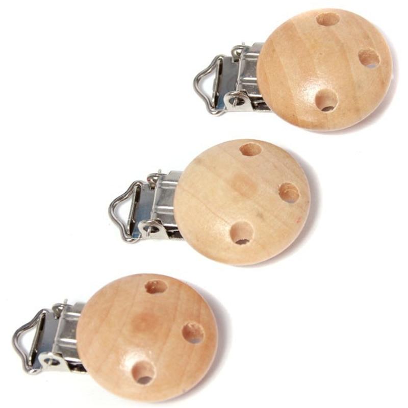 5 pièces/lot bébé attache-sucette sucette solide couleur infantile Clips factices pour bébé fermoirs supports accessoires