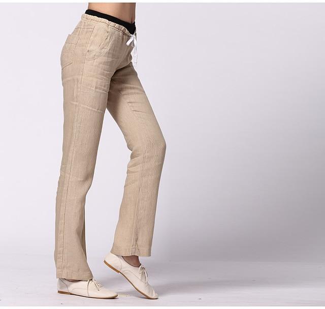 Sale!!!Woman Trousers Plus size feminina Summer Spring Autumn Fashion Linen Female pants women exercise pants