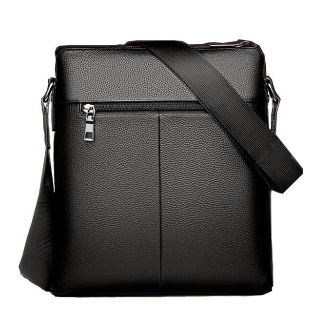 Fashion Shoulder Bag Men's Messenger Bags PU Leather Briefcase Famous Brand Men Crossbody Bag Male High Quality Shoulder Bag 5
