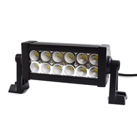 One couple 2PCS 36W 7 inch LED Work Light Bar 12 X 3w led chip Flood Spot Beam Spotlight Offroad Light Bar Fit ATV outdoor light