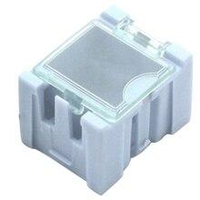 20шт коробка деталей комплект инструментов электронный блок винт чип резистор ящик для хранения автоматически выскакивает патч-контейнер
