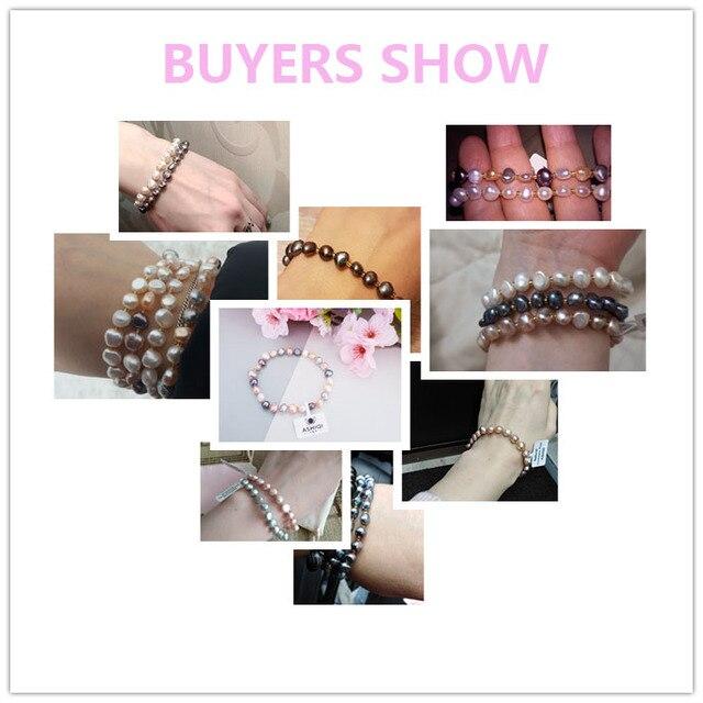 Natural Pearls Bracelet - 6 Colors 5