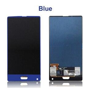 Image 2 - Czarny/niebieski dla 5.5 cal Doogee mix wyświetlacz LCD + ekran dotykowy Digitizer części zamienne do montażu 100% oryginalny nowy