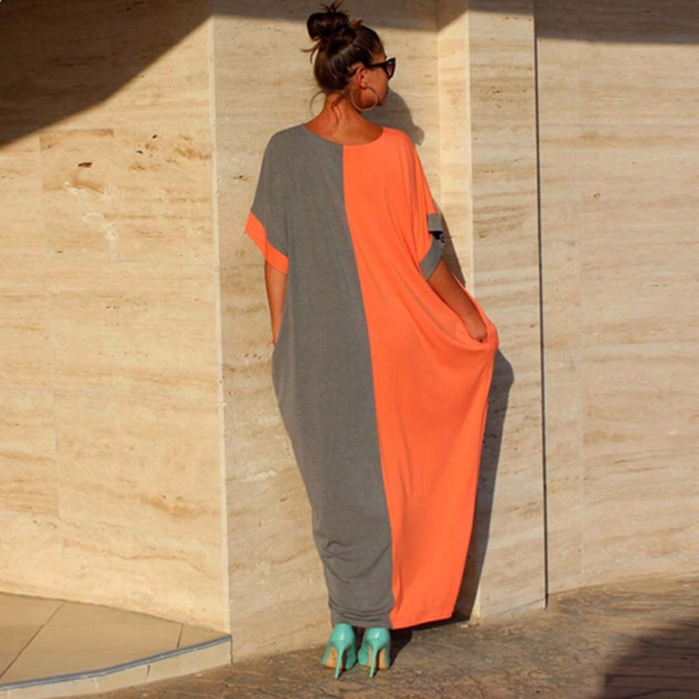 woman long dresses
