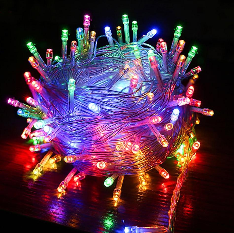 10 Meter 80 LEDs multiple String Light battery operated ...