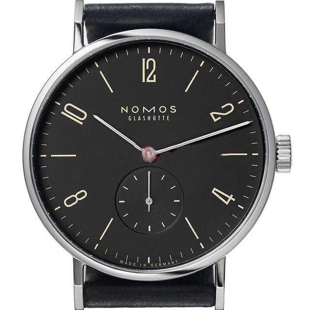 Famosa Marca Nome de Nomos Mens Relógios de Relógios De Luxo Homens de Negócios de Couro Genuíno Simples Relógio De Quartzo Montre Homme de Marque