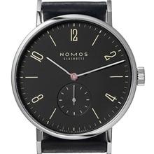 Famous Name Brand Nomos Mens Watches Genuine Leather Luxury Watch Men Business Simple Quartz Watch Montre Homme de Marque