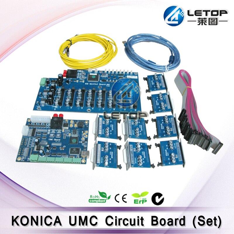 Bom Preço! Placa UMC Konica Impressora jato De tinta para a cabeça Konica 512 42pl cabeçote