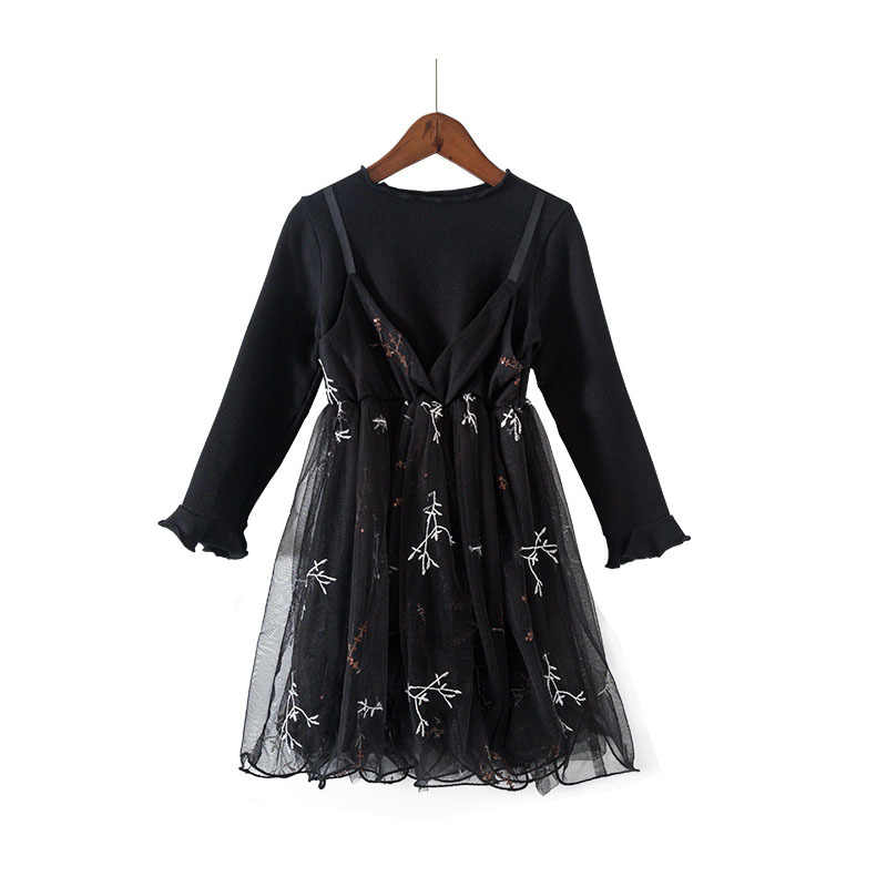 Nueva moda 2019 vestido de baile para niñas adolescentes vestido para niños pequeños bebé niñas princesa tul tutú vestidos para fiesta bata Fille traje