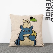 Totoro Pillow Cushion Cover – Home Decorative Pillow Sofa Cushion Cover 3 Edition