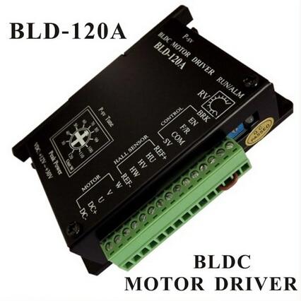 BLDC Motor Driver Controller 120W 12V-30V DC Brushless DC Motor Driver BLD-120A