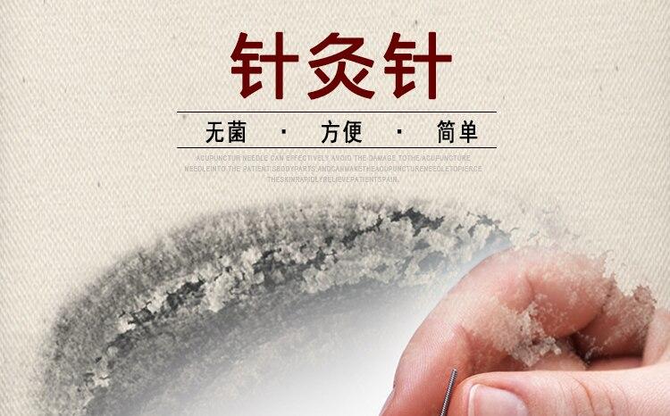 acupuntura agulha reutilizável agulha beleza massagem agulha prata