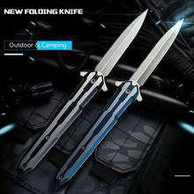 Hunting Knife Hand Tools Folding knives Mini Pocket knife CS GO Stainless Steel Keychain Knives navajas Hand Tools Woodworking