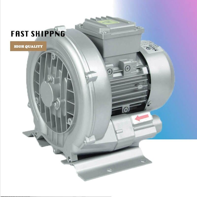 HG-370 220/380 V/50 HZ Singe étage anneau souffleur grande capacité Vortex gaz anneau souffleur