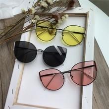New Cat Eye Children Sunglasses Brand Metal Kids Sunglasses Uv400 Black Sunglasses Girls Boys Glasses Oculos Infantil