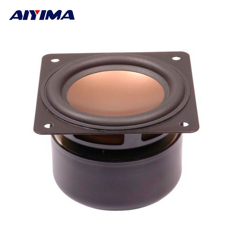 AIYIMA 3Inch Audio Speakers 8Ohm 15W HiFi Full Range ...
