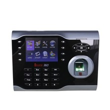 Customizable Language Persian or Russian Iclock360 fingerprint time attendance 8000users with TCP/IP RS485/232 USB communication