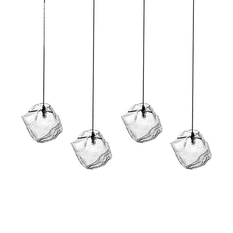 Современная Nordic Стекло светодиодные светильники подвесные светильники современный дизайнер для дома ресторан Кухня офисные огни лестницы