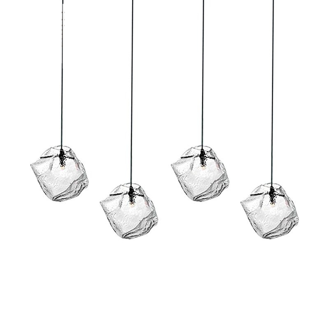 Modern Nordic Glass Led Pendant Lamps Lighting Fixtures Contemporary ...