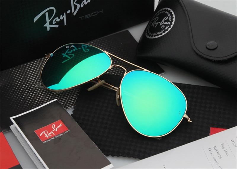 06f44fa19 2019 Óculos de Condução Glassess RB3025 RayBan Aviador RayBan Óculos De Sol  Para Homens/Mulheres óculos de Sol Retro Polarizadas RB3025