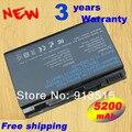 Nova bateria Laptop 6 celular para Acer Extensa 5210 5220 5230 5420 5420 G 5610 5620 z 5630 5630 G 7220 7620Z TM00741 TM00751